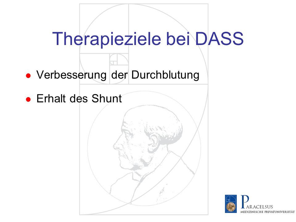 Therapieziele bei DASS