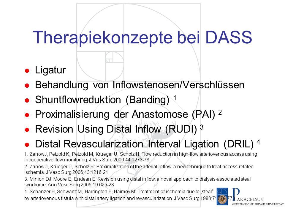 Therapiekonzepte bei DASS