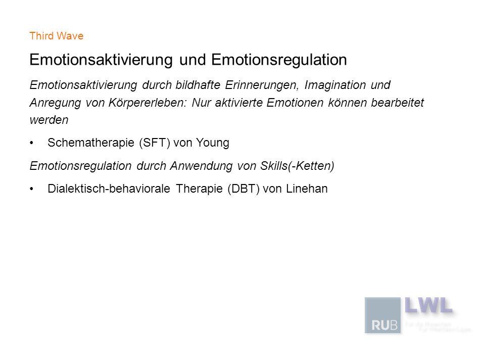 Emotionsaktivierung und Emotionsregulation