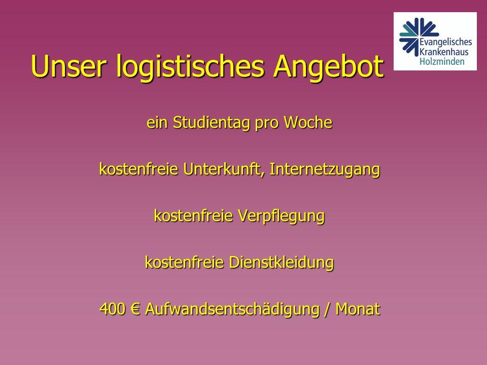 Unser logistisches Angebot