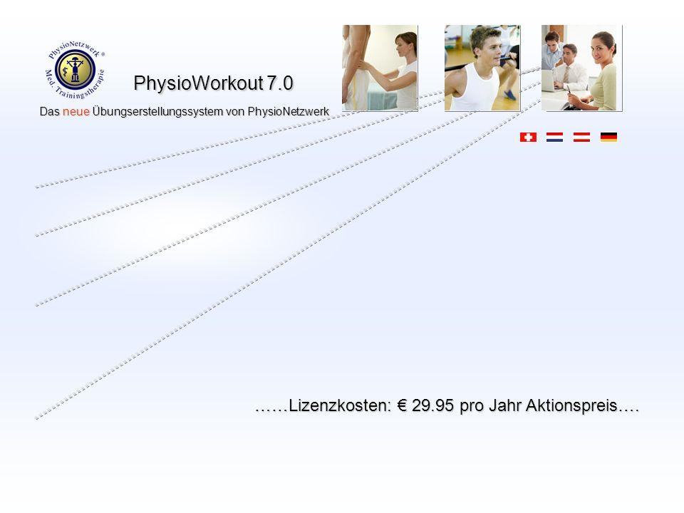 ……Lizenzkosten: € 29.95 pro Jahr Aktionspreis….
