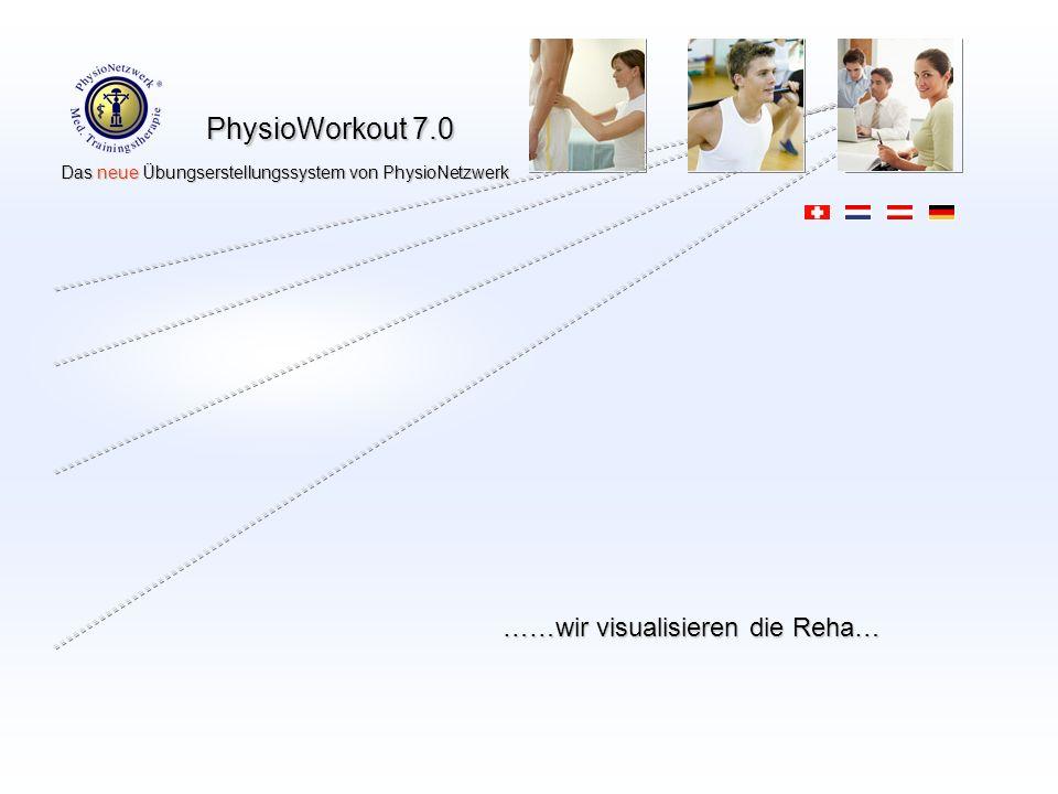 ……wir visualisieren die Reha…
