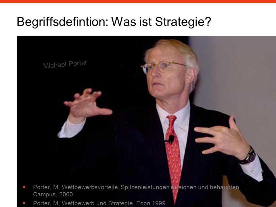 Begriffsdefintion: Was ist Strategie