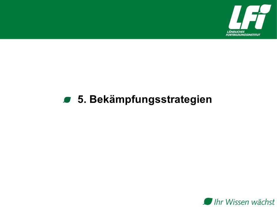 5. Bekämpfungsstrategien