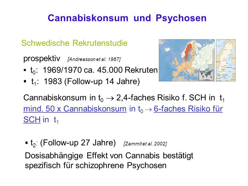 Cannabiskonsum und Psychosen