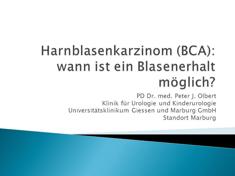 Harnblasenkarzinom (BCA): wann ist ein Blasenerhalt möglich