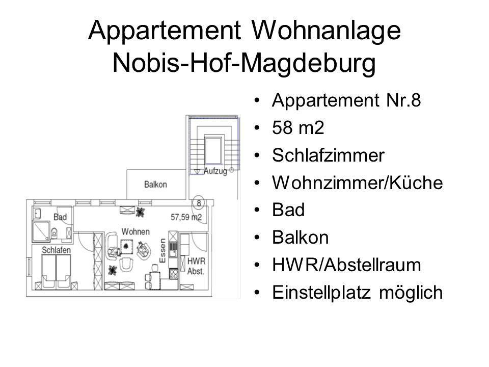 Appartement Wohnanlage Nobis-Hof-Magdeburg