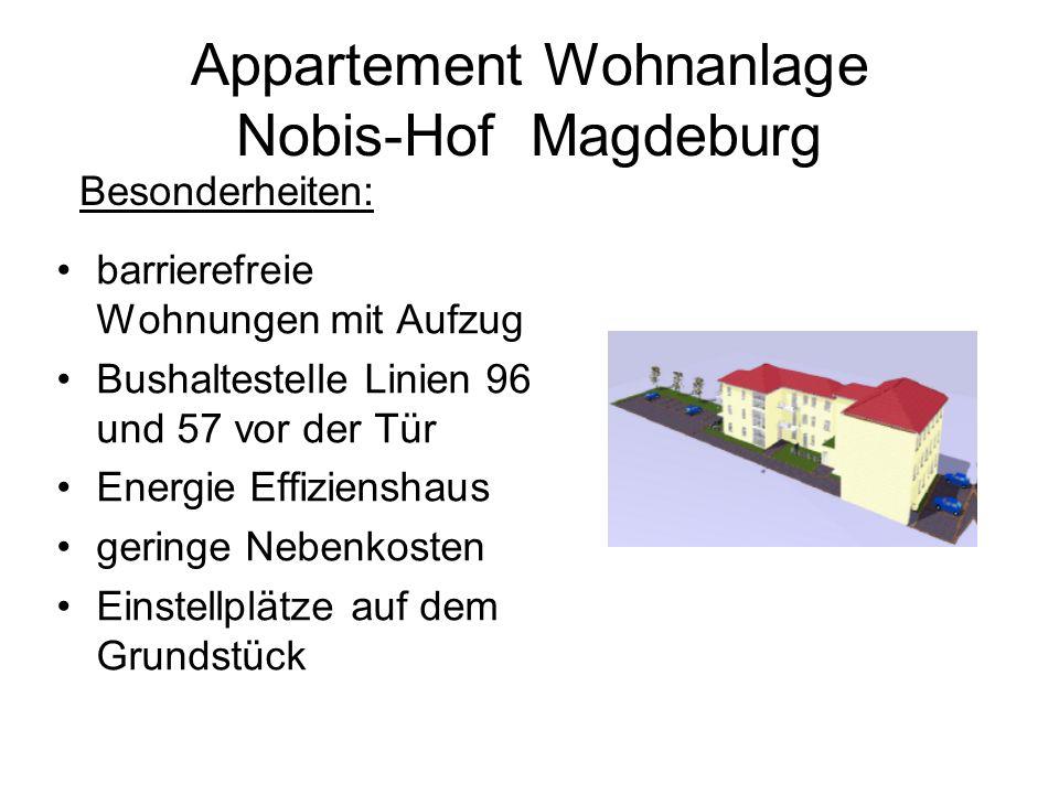 Appartement Wohnanlage Nobis-Hof Magdeburg
