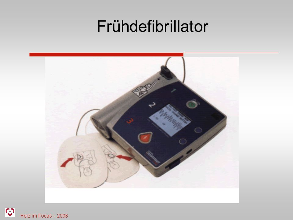 Frühdefibrillator