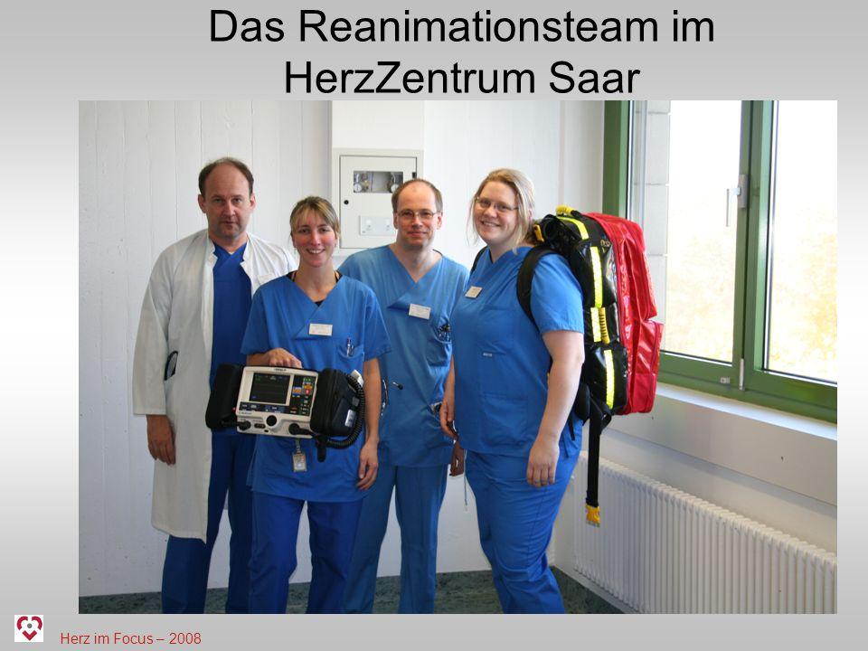 Das Reanimationsteam im HerzZentrum Saar