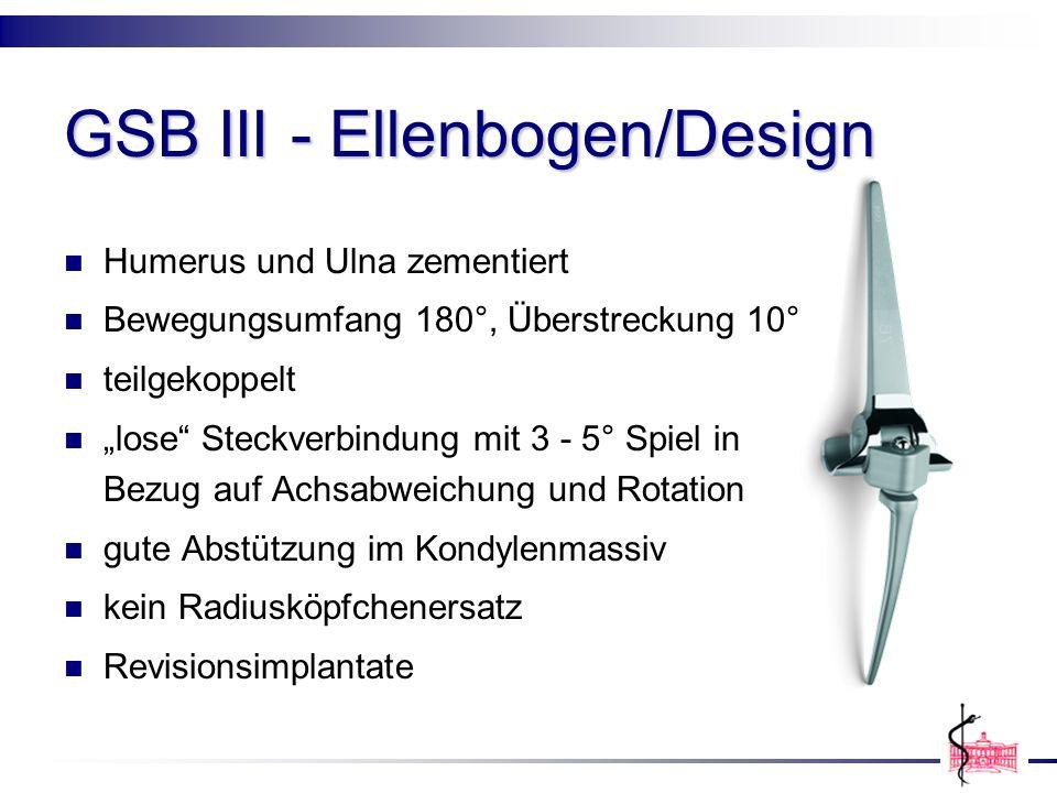 GSB III - Ellenbogen/Design