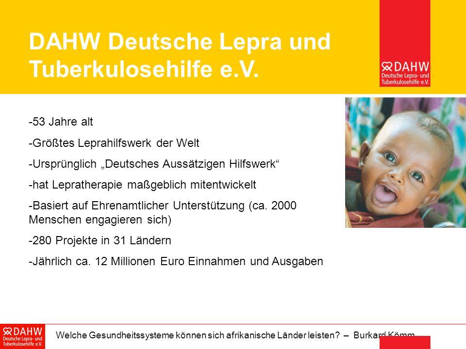 DAHW Deutsche Lepra und Tuberkulosehilfe e.V.
