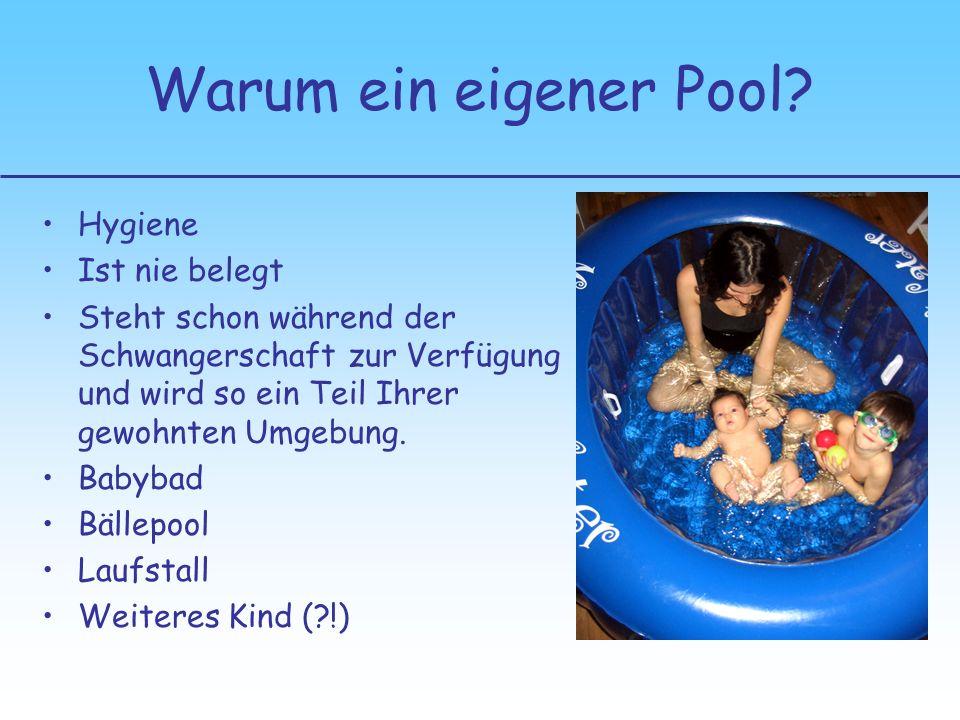 Warum ein eigener Pool Hygiene Ist nie belegt