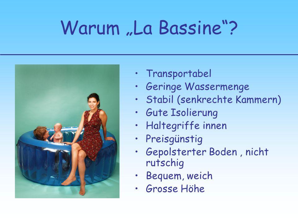 "Warum ""La Bassine Transportabel Geringe Wassermenge"