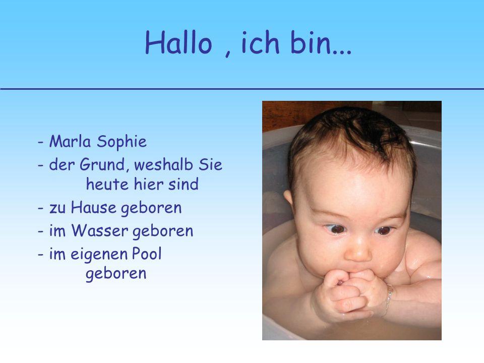 Hallo , ich bin... - Marla Sophie