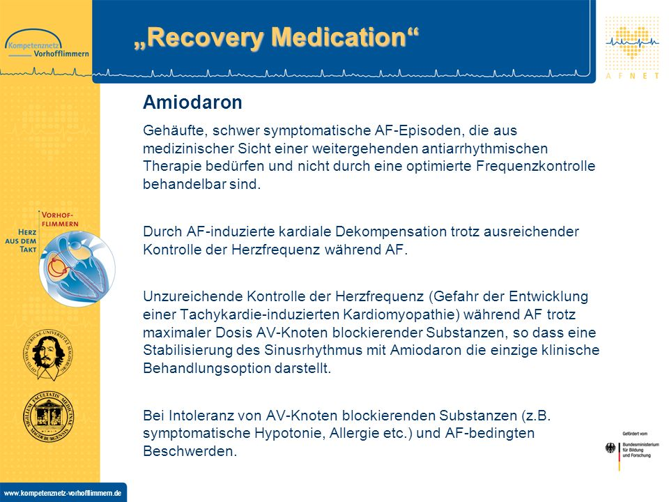 """Recovery Medication"