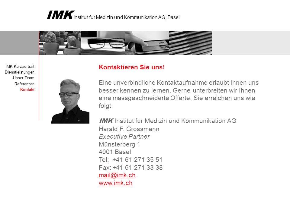 IMK Institut für Medizin und Kommunikation AG Harald F. Grossmann