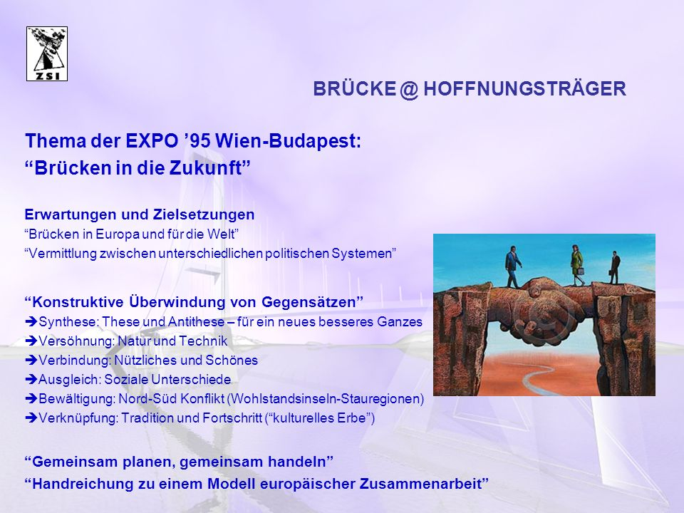 BRÜCKE @ HOFFNUNGSTRÄGER
