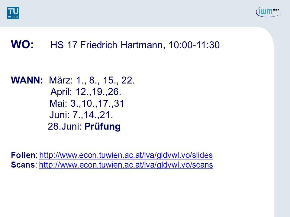 WO: HS 17 Friedrich Hartmann, 10:00-11:30
