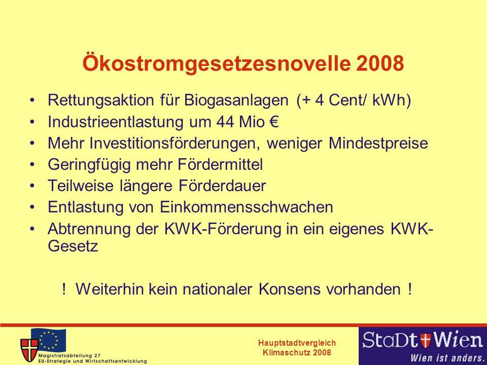Ökostromgesetzesnovelle 2008