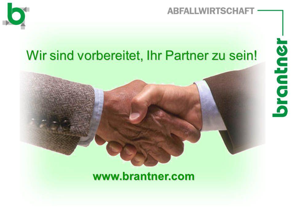 Wir sind vorbereitet, Ihr Partner zu sein!