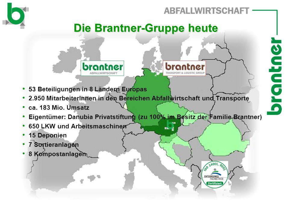 Die Brantner-Gruppe heute