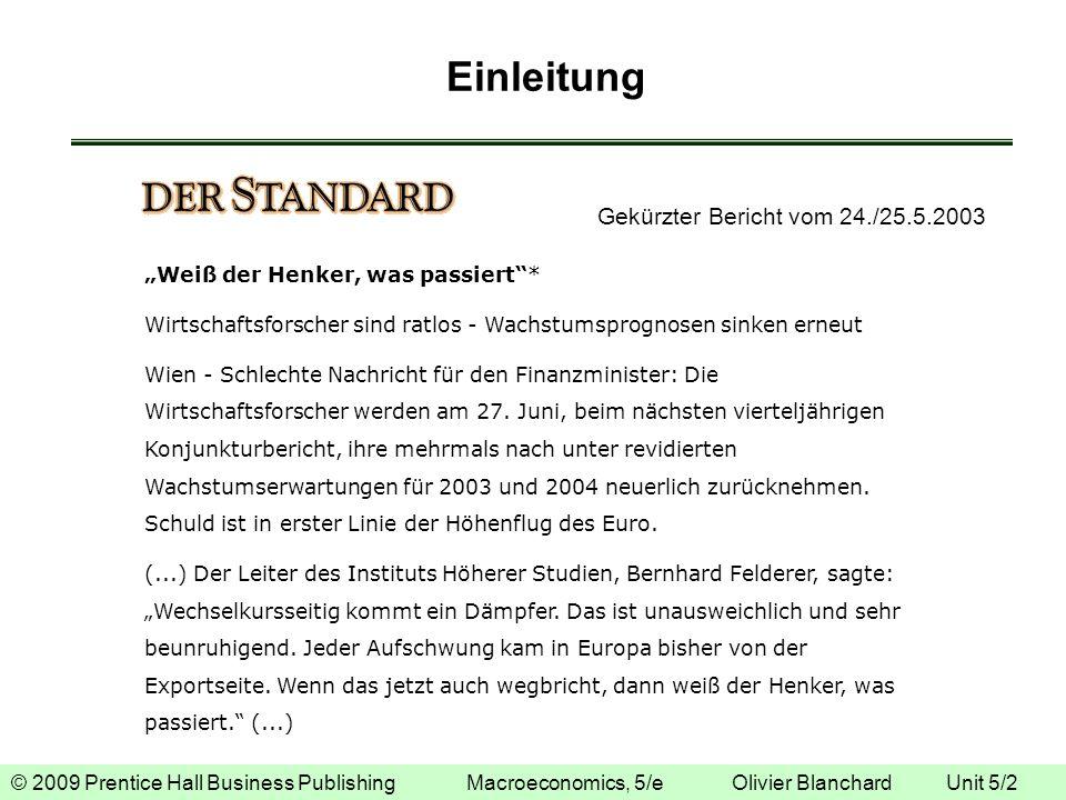 Einleitung Gekürzter Bericht vom 24./25.5.2003