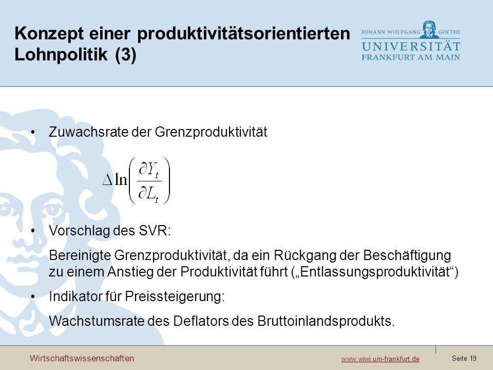 Konzept einer produktivitätsorientierten Lohnpolitik (3)