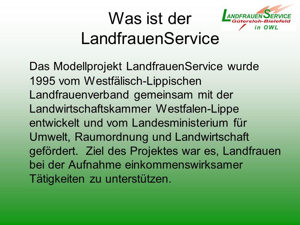 Was ist der LandfrauenService