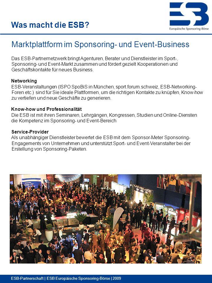 Marktplattform im Sponsoring- und Event-Business