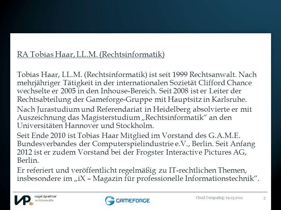 RA Tobias Haar, LL.M. (Rechtsinformatik)