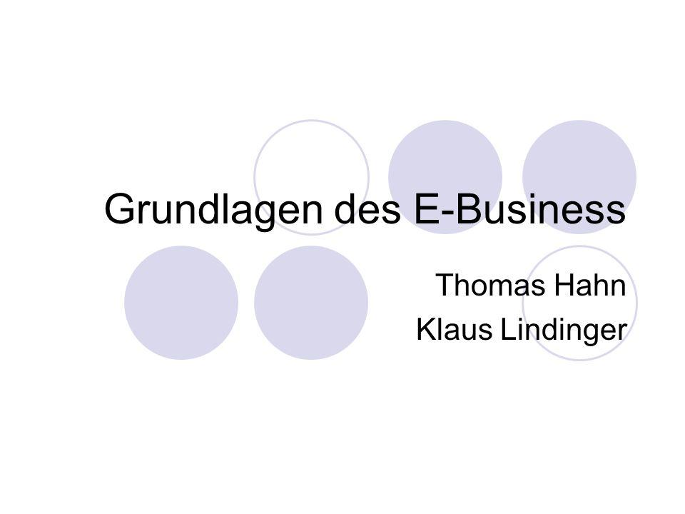 Grundlagen des E-Business