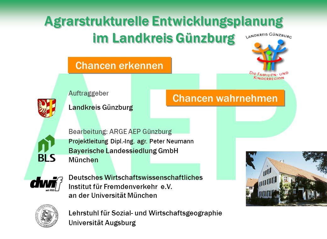 Agrarstrukturelle Entwicklungsplanung im Landkreis Günzburg