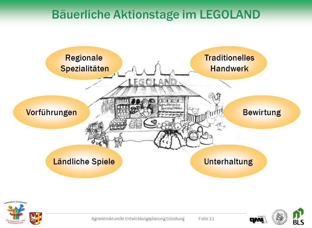 Bäuerliche Aktionstage im LEGOLAND