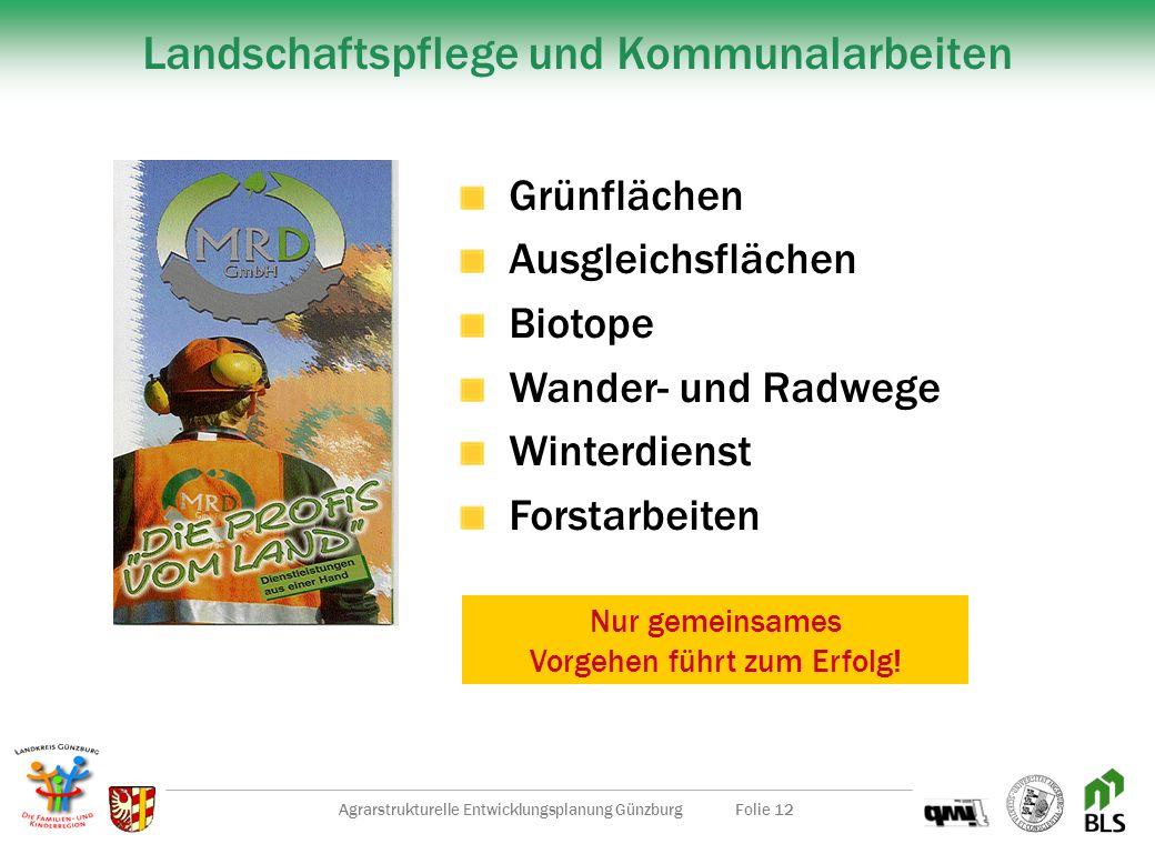 Landschaftspflege und Kommunalarbeiten