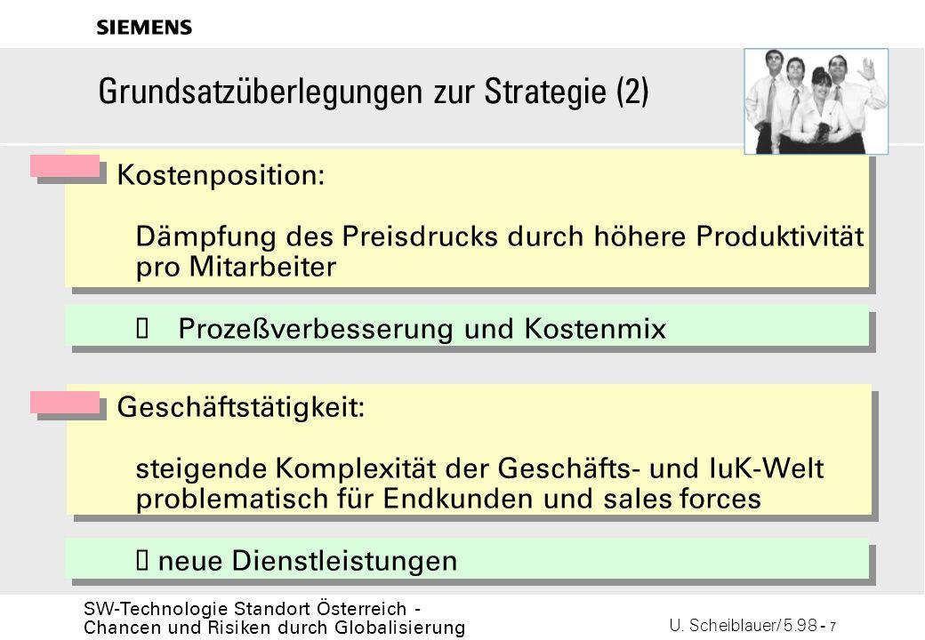 Grundsatzüberlegungen zur Strategie (2)
