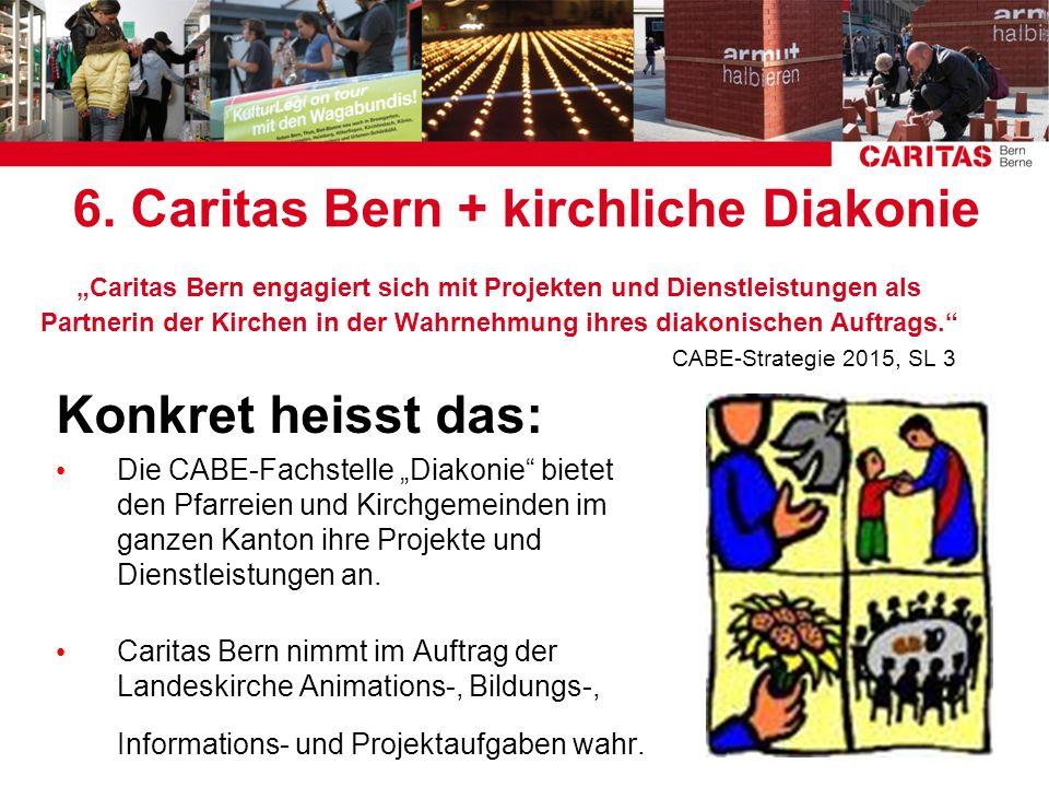 6. Caritas Bern + kirchliche Diakonie
