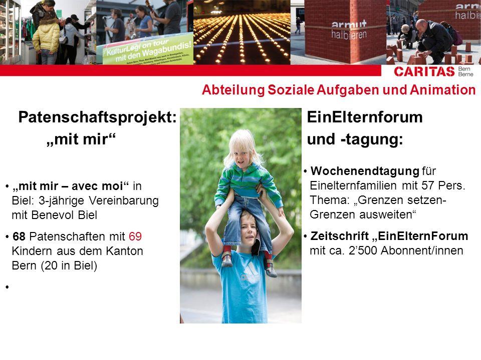 """Patenschaftsprojekt: EinElternforum """"mit mir und -tagung:"""