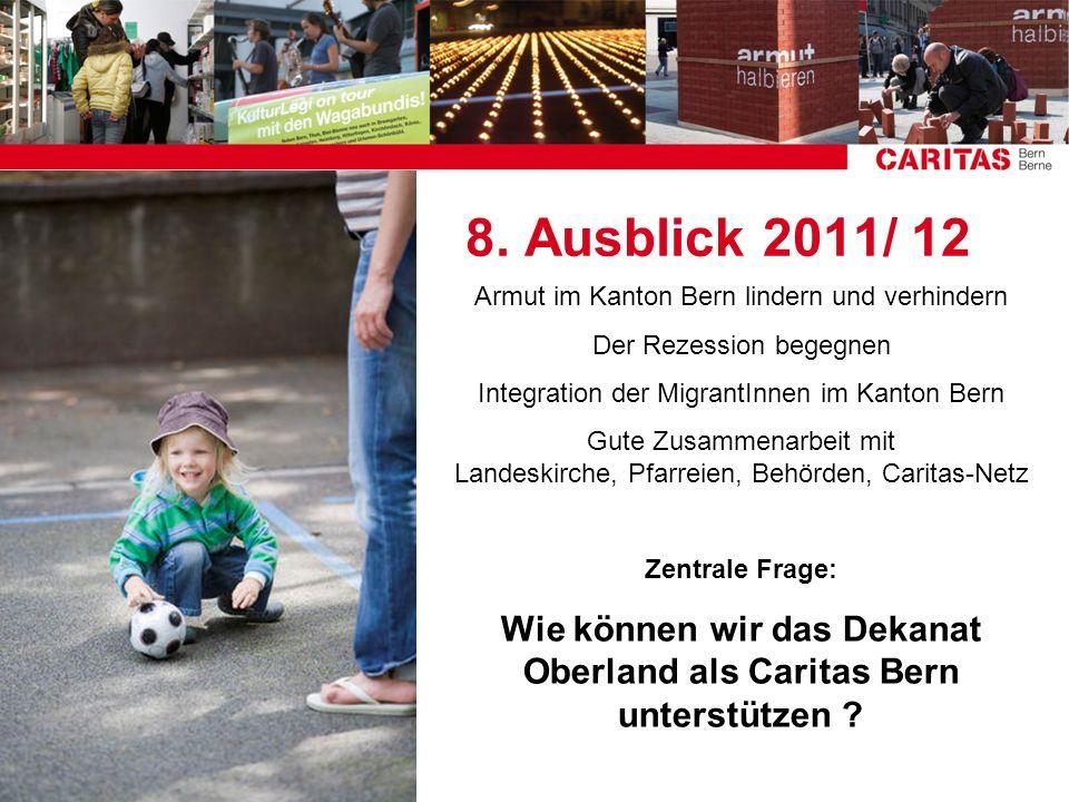 Wie können wir das Dekanat Oberland als Caritas Bern unterstützen