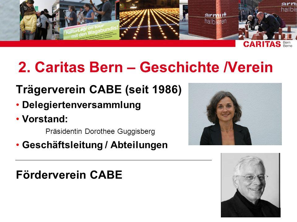 2. Caritas Bern – Geschichte /Verein
