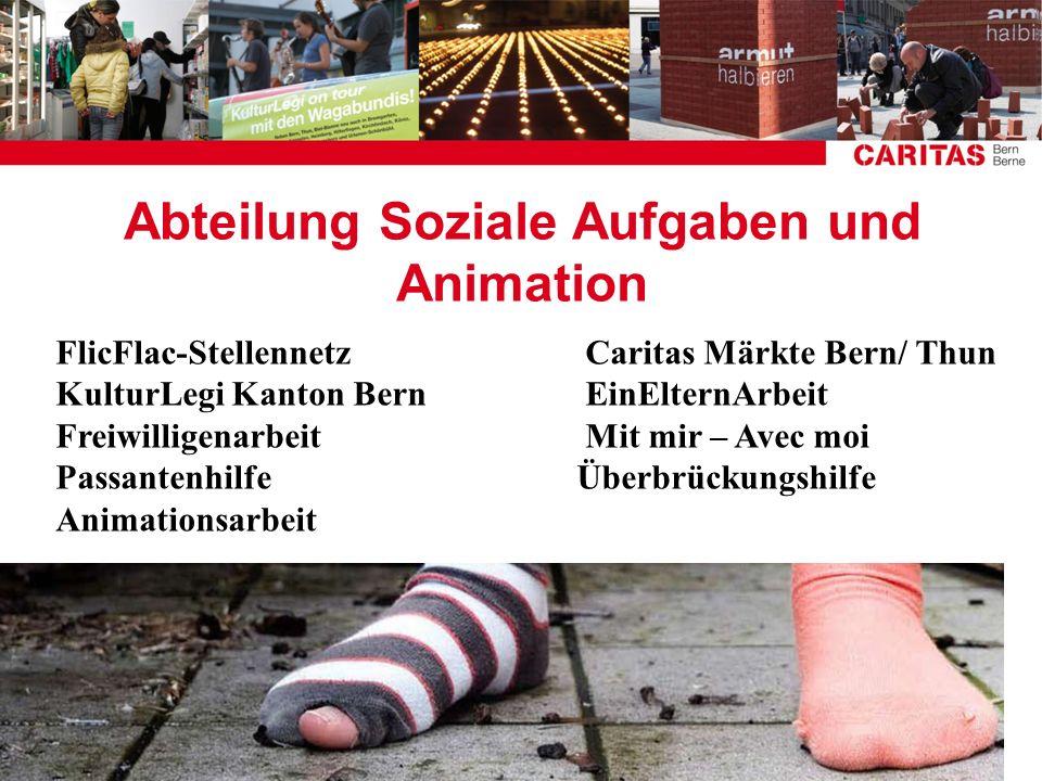 Abteilung Soziale Aufgaben und Animation