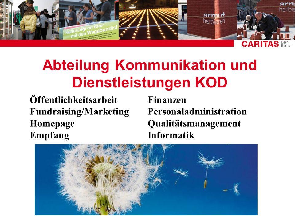 Abteilung Kommunikation und Dienstleistungen KOD