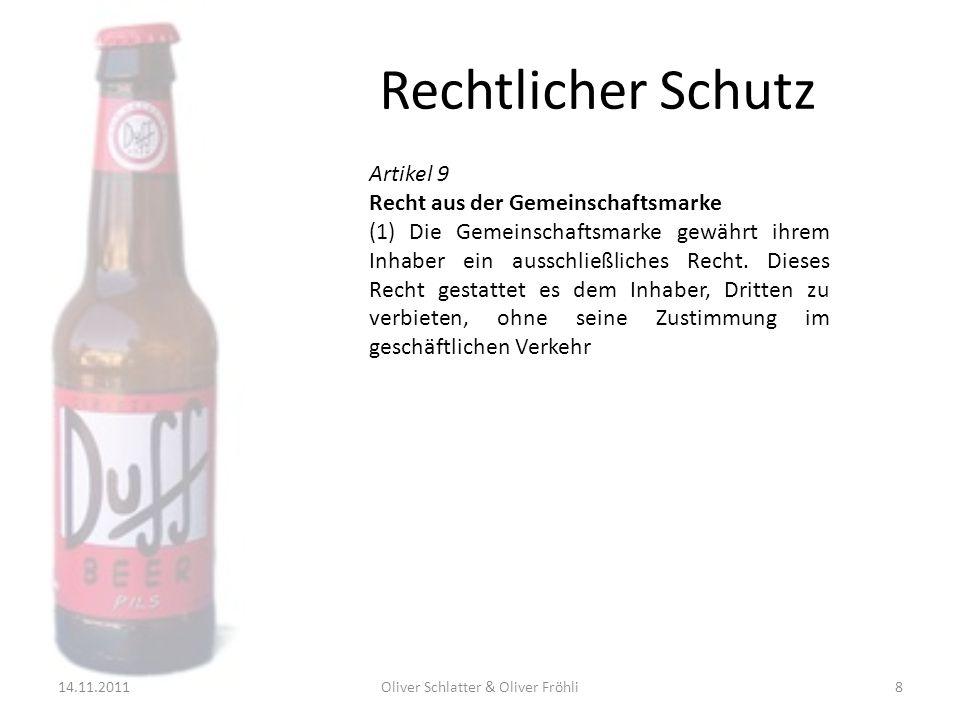 Oliver Schlatter & Oliver Fröhli