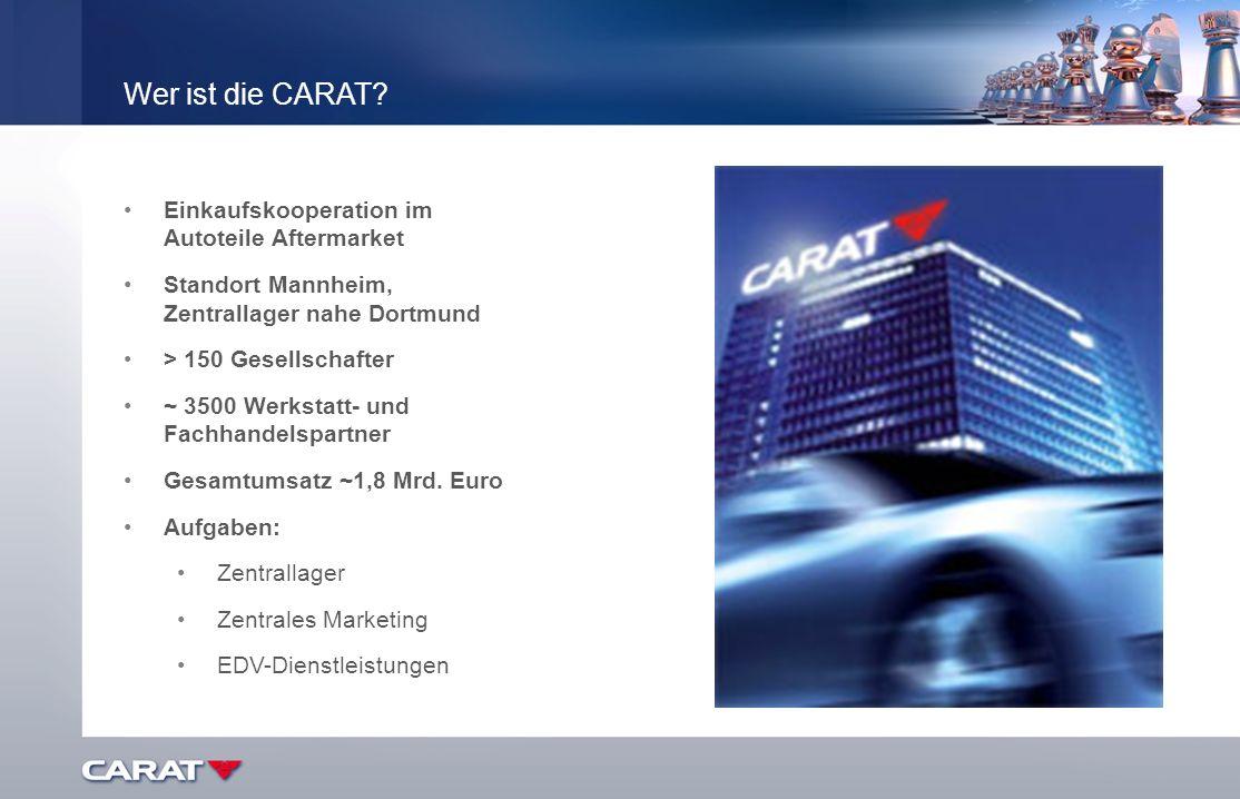Wer ist die CARAT Einkaufskooperation im Autoteile Aftermarket