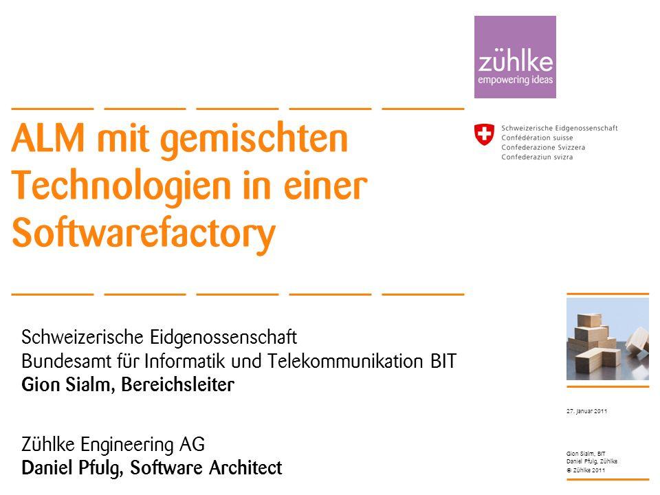 ALM mit gemischten Technologien in einer Softwarefactory