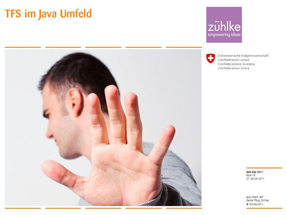 TFS im Java Umfeld 27. Januar 2011