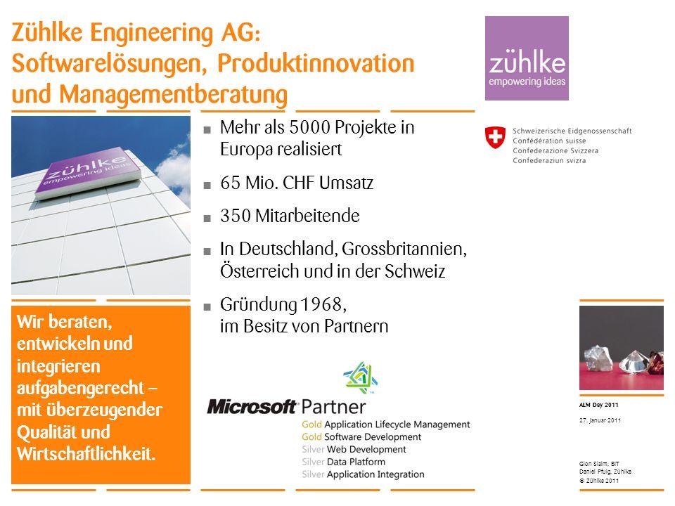Zühlke Engineering AG: Softwarelösungen, Produktinnovation und Managementberatung