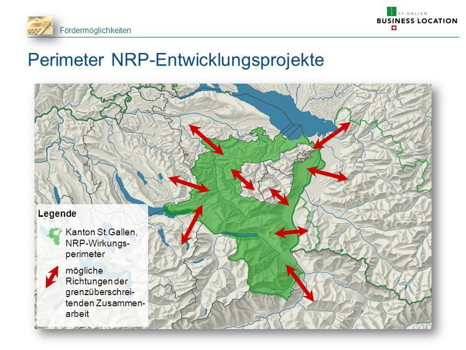 Perimeter NRP-Entwicklungsprojekte