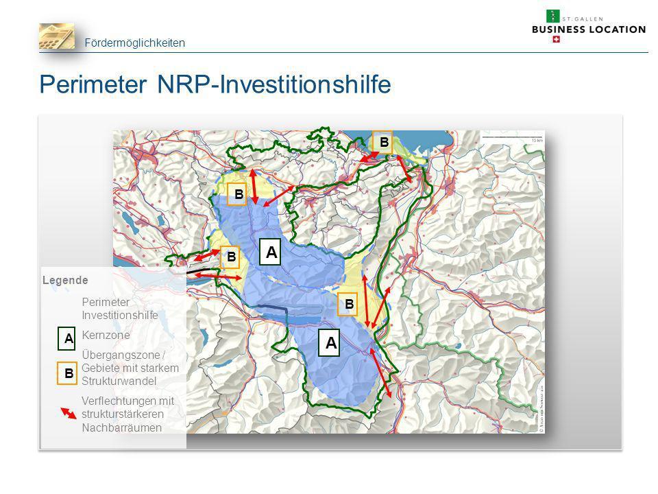 Perimeter NRP-Investitionshilfe