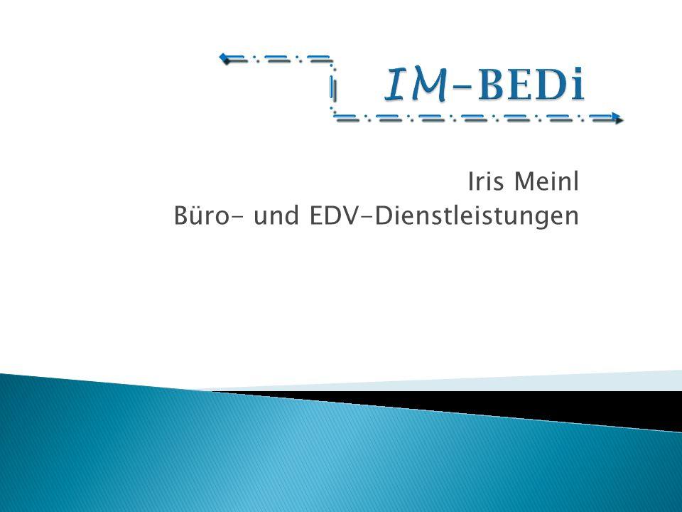 Iris Meinl Büro- und EDV-Dienstleistungen